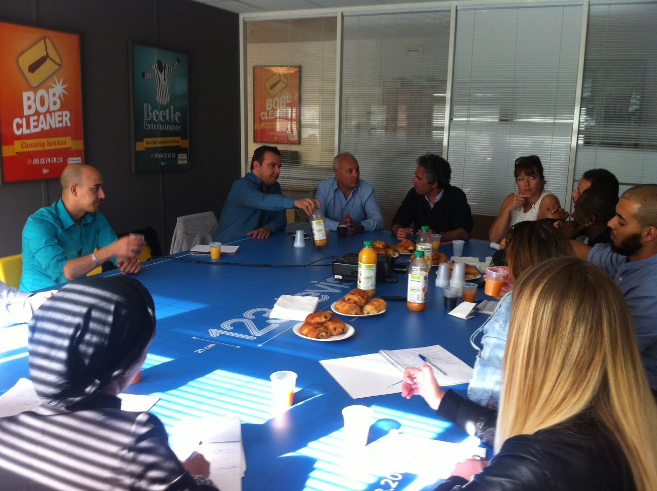 Rencontre / Petit déjeuner chez 123devis.com 2