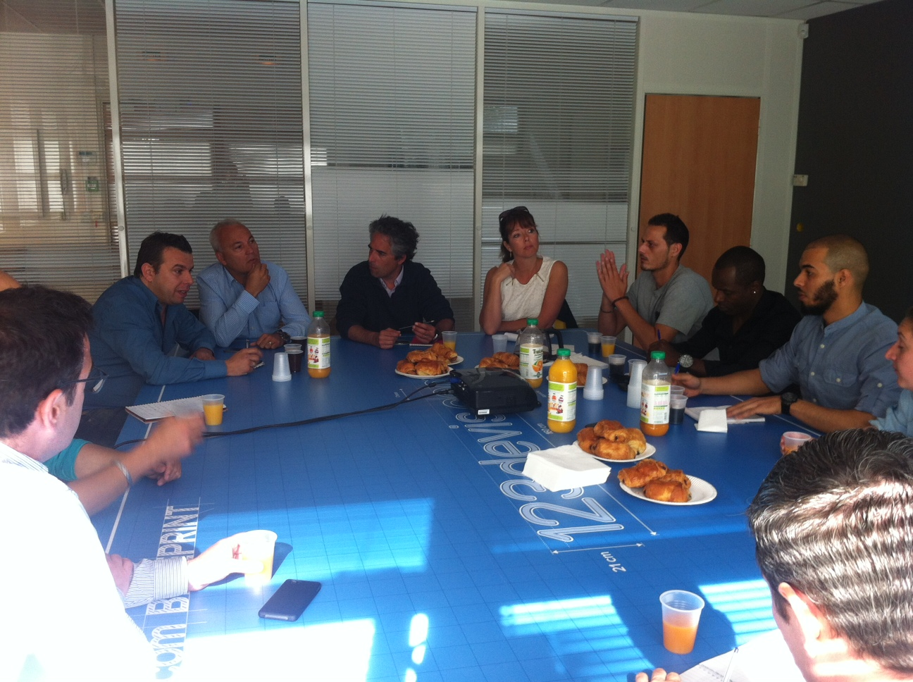 Rencontre / Petit déjeuner chez 123devis.com 1