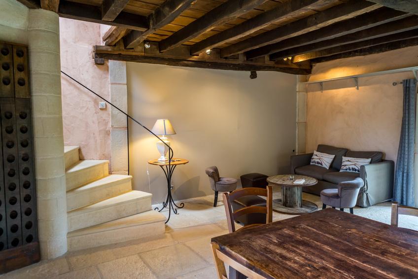 Une maison neuve avec des mat riaux anciens blog for Interieur longere